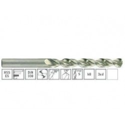 מקדחי E5 קובלט קנה ישר 1.1-12.0 TIVOLY